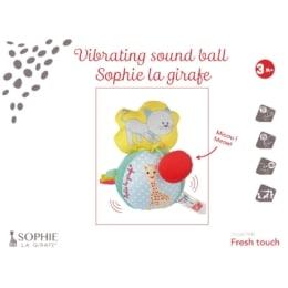 Σόφι καμηλοπάρδαλη Μαλακή μπαλίτσα με δόνηση και ήχο